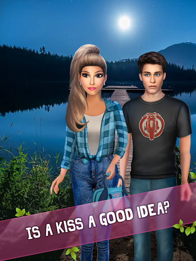 Summer Camp Vibes - Teenage Romance Story apkmr screenshots 13