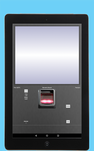 Fingerprint Biometric Identification Record Prank for PC