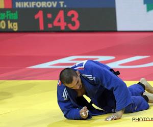 Mauvaise nouvelle pour Nikiforov qui s'incline et se blesse au Grand Prix de judo de Budapest