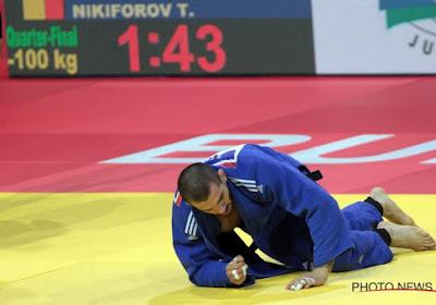 La journée n'a pas été fructueuse pour les judokas belges aux Jeux Européens