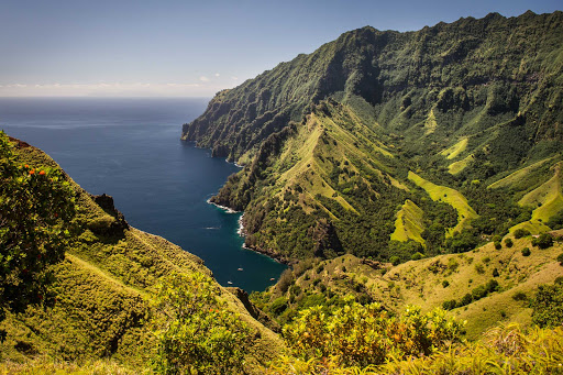 Cruise through French Polynesia and stop at exotic Fatu Hiva on your Ponant sailing.