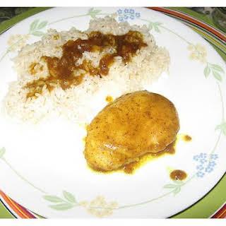 Honey Curry Chicken.