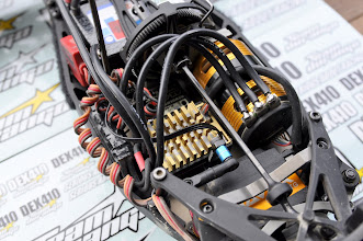 Photo: ESC: CS-electrics, Servo: Savöx & Radio: Sanwa M11X
