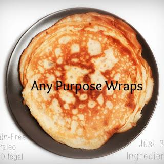 Super Easy, 3 Ingredient, Any Purpose Wraps