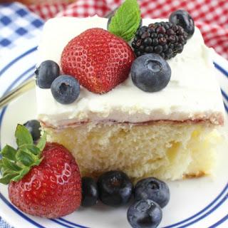 Chantilly Sheet Cake Recipe