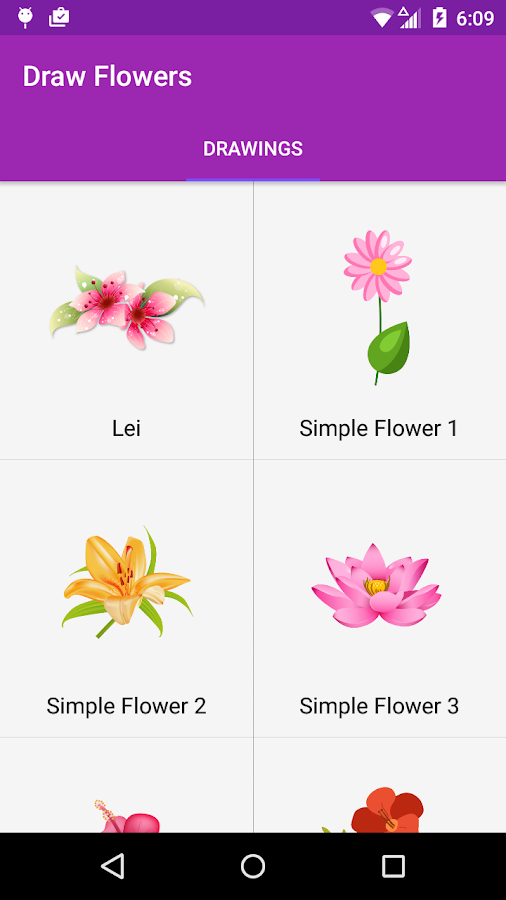 Drawing Flowers Easy Instructions Android Apps on Google Play