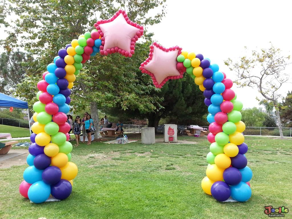 Balloon decorating ideas android apps on google play for 7 star balloon decoration