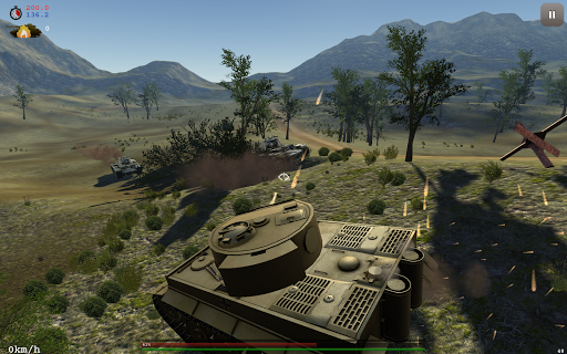 Archaic: Tank Warfare  captures d'u00e9cran 1