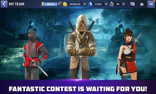 Code Triche super-hu00e9ros ninja kung fu: jeux mini ninjas APK MOD screenshots 1