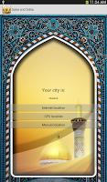 Screenshot of Salat Timings Alarm and Qibla