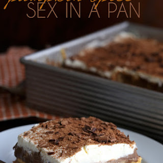 Pumpkin Sex In A Pan Dessert