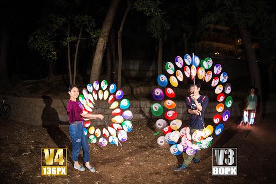 Visual Poi V3 vs V4 ビジュアルポイ比較