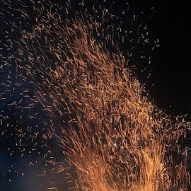 by Mohsin Raza - Abstract Fire & Fireworks