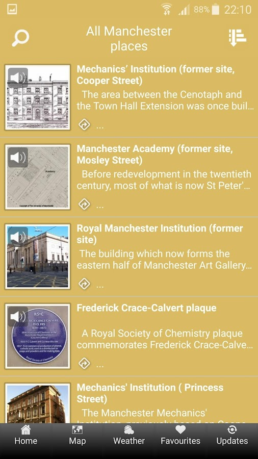 Science Places Manchester- screenshot