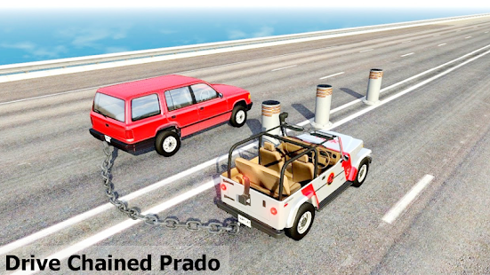 Chained Prado 3D: Cars Driver - náhled