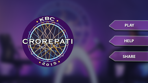KBC 2015 : Play Quiz