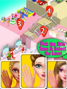 Nail Shiny Art Design Stylist: Glowing Colors- screenshot thumbnail