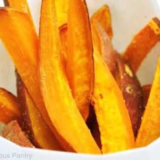 Clean Eating Sweet Potato Fries