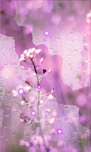 Flowers Pink live wallpaper - náhled