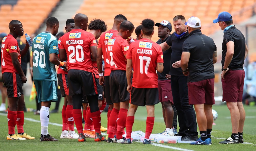 Maritzburg after sacking Tinkler: 'The results have not been forthcoming'