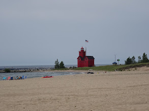 Photo: Big Red lighthouse, Holland