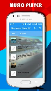 Blue Music Player EX- screenshot thumbnail