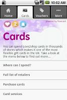 Screenshot of Love2Shop