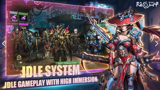Battle Night: Cyber Squad MOD (One Hit/God Mode) 3