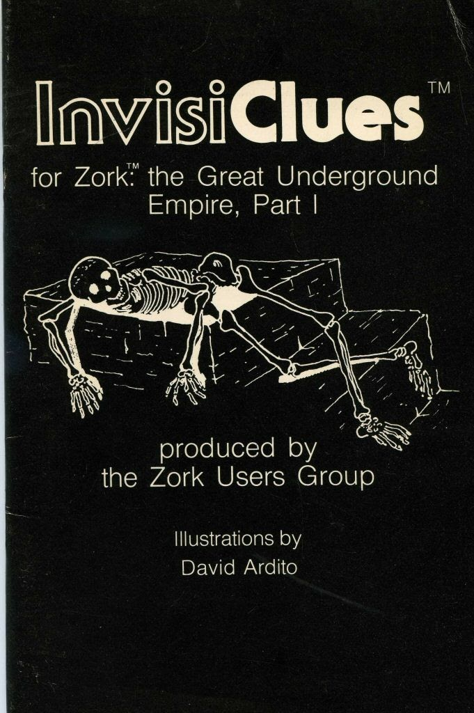 Video game instruction book:InvisiClues for Zork: The Great