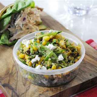Snap Pea, Charred Corn and Quinoa Salad Recipe