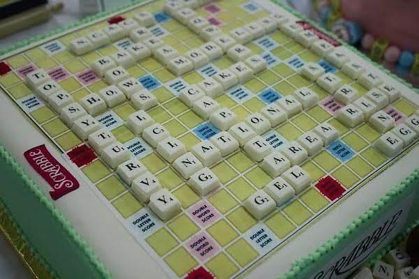 Scrabble Cake Recipe