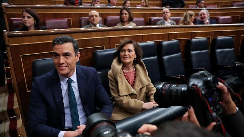 Carmen Calvo y Nadia Calviño serán dos de las tres Vicepresidentas.