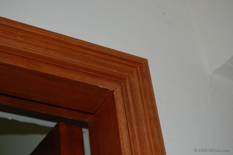 Design challenges workmanship doors architrave for Door architrave