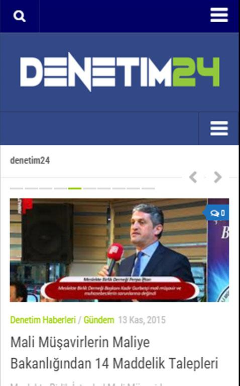 Denetim24- screenshot