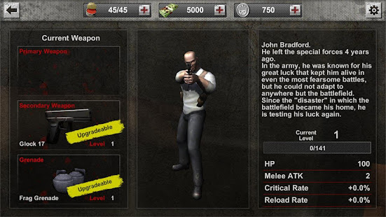 Zombie Hunter Frontier MOD UNLIMITED COIN