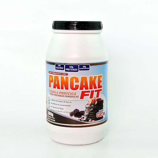 mezcla para panquecas pancake fit cacao 600g