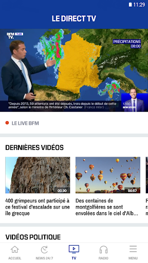 BFMTV - Actualitu00e9s France et monde & alertes info 4.2.5 Screenshots 4