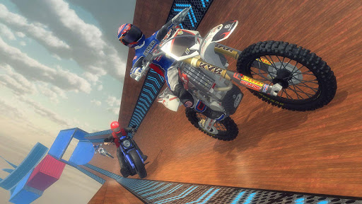Impossible Bike Stunt - Mega Ramp Bike Racing Game apktreat screenshots 2