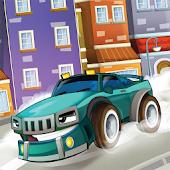 Cars Cartoon Memory Matching