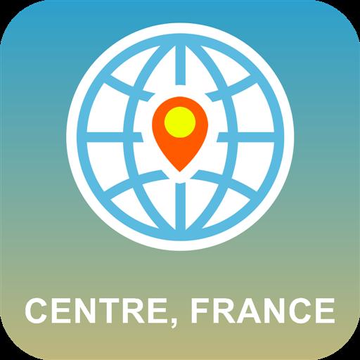 中心,法国 离线地图 旅遊 App LOGO-APP開箱王