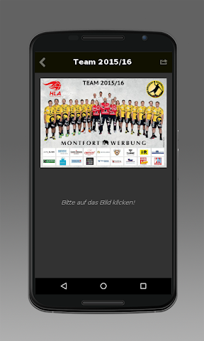 android Bregenz Handball Screenshot 3