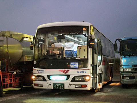 西鉄高速バス「フェニックス号」 9908 北熊本SAにて