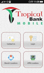 Tropical Bank Mobile - náhled