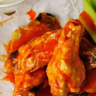 Healthier Baked Chicken Wings.