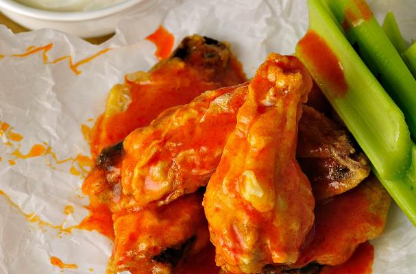 Healthier Baked Chicken Wings Recipe