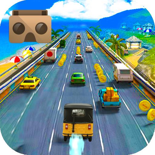 VR Highway tuktuk TrafficRacer