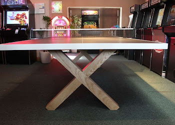 Handmade Ash Table Tennis Table