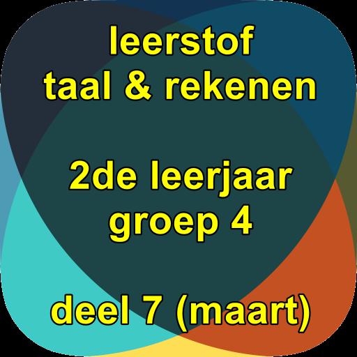 leerstof 2de leerjaar/groep4 (nr7)