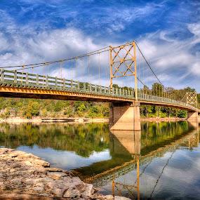 Bridge at Beaver, AR by Jay Stout - Digital Art Places (  )