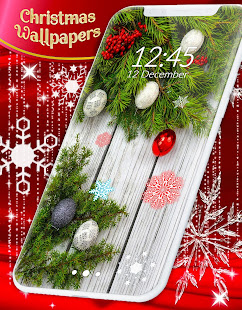 Christmas Wallpapers ?? Xmas Tree Live Wallpaper
